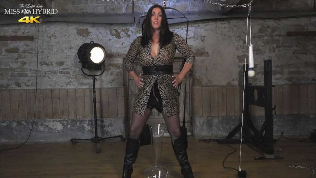 Mistress Miss Hybrid dungeon pee.